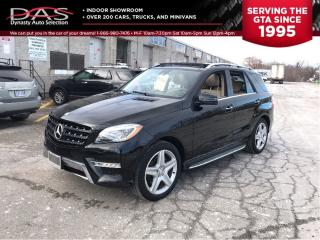 Used 2015 Mercedes-Benz ML-Class ML350 BlueTEC 4MATIC NAVIGATION/PANORAMIC SUNROOF for sale in North York, ON