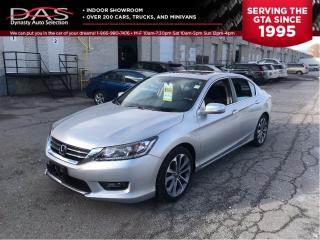 Used 2015 Honda Accord SPORT SUNROOF/REAR VIEW CAMERA for sale in North York, ON
