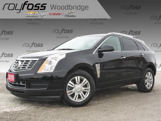 Used 2015 Cadillac SRX Luxury BOSE, NAV, SUNROOF for sale in Woodbridge, ON
