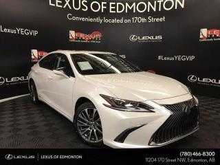 New 2019 Lexus ES 300 h Luxury Package for sale in Edmonton, AB