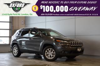 Used 2015 Jeep Cherokee North - one owner, low km, gold plan for sale in London, ON