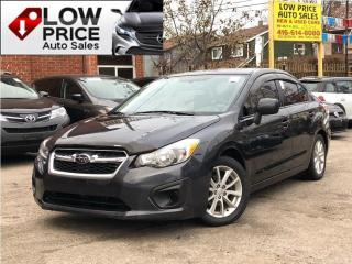 Used 2014 Subaru Impreza TouringPkg*HtdSeats*Bluetooth*FullOpti* for sale in Toronto, ON