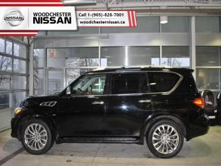 Used 2015 Infiniti QX80 Base  -  Sunroof - $358.90 B/W for sale in Mississauga, ON