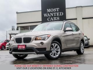 Used 2014 BMW X1 xDrive28i | 4 NEW TIRES | PANO ROOF | SENSORS for sale in Kitchener, ON
