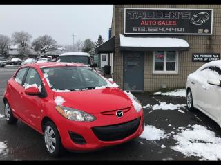 Used 2013 Mazda MAZDA2 for sale in Kingston, ON
