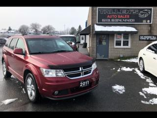 Used 2011 Dodge Journey Crew for sale in Kingston, ON