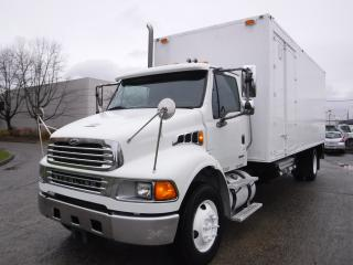 Used 2008 Sterling Acterra 22 Foot Cube Van Diesel with Mobile Shredding and Air Brakes for sale in Burnaby, BC