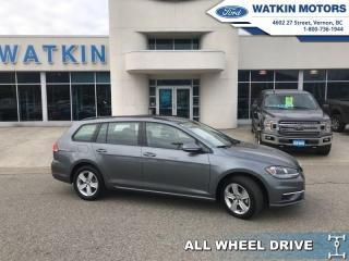Used 2018 Volkswagen Golf Sportwagen SPORTWAGEN 4 MOTION AWD for sale in Vernon, BC