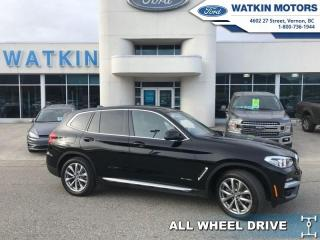 Used 2018 BMW X3 xDrive3.0 PREMIUM TURBO for sale in Vernon, BC