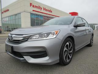 Used 2016 Honda Accord LX, Heated Seats, Back up cam! for sale in Brampton, ON