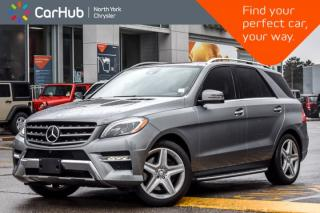 Used 2015 Mercedes-Benz ML-Class ML 400|H/K_Audio|PanoSunroof|Nav|KeylessGo for sale in Thornhill, ON