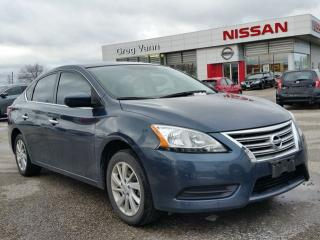 Used 2015 Nissan Sentra SV w/heated seats,sxm radio,rear cam,bluetooth for sale in Cambridge, ON