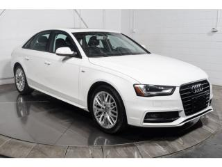 Used 2015 Audi A4 Komfort Cuir Toit for sale in Île-Perrot, QC