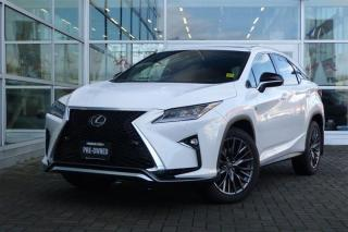 Used 2017 Lexus RX 350 8A *F-Sport Series 2* for sale in Vancouver, BC