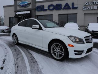 Used 2013 Mercedes-Benz C250 Coupe LOW KM. NAV. PANOR ROOF. AMG PKG. for sale in Ottawa, ON