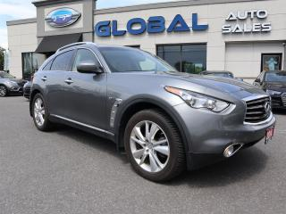 Used 2014 Infiniti QX70 AWD NAVIGATION LEATHER WOOD TRIM. for sale in Ottawa, ON