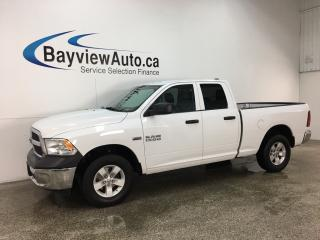 Used 2017 RAM 1500 ST - HITCH! TOW/HAUL! A/C! CRUISE! PWR GROUP! for sale in Belleville, ON