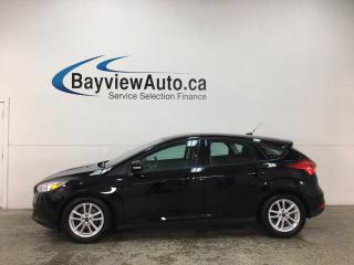 Used 2016 Ford Focus SE - AUTO! ALLOYS! REV CAM! FULL PWR GROUP! for sale in Belleville, ON
