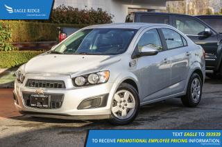 Used 2012 Chevrolet Sonic LS AM/FM Radio & A/C for sale in Coquitlam, BC