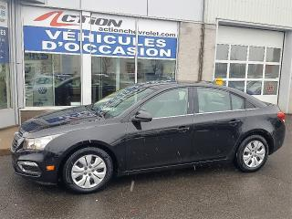 Used 2015 Chevrolet Cruze LT for sale in St-Hubert, QC
