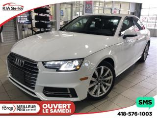 Used 2018 Audi A4 2.0T Komfort for sale in Québec, QC