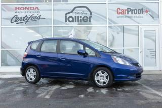 Used 2014 Honda Fit LX for sale in Québec, QC