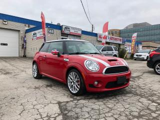Used 2010 MINI Cooper S JOHN COOPER WORKS_ACCIDENT FREE_PANORAMICROOF_NAVI for sale in Oakville, ON