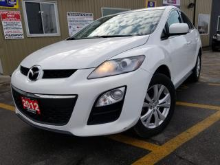 Used 2012 Mazda CX-7 GS-AWD-NICE KM FOR YEAR-CLEAN for sale in Tilbury, ON
