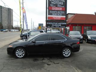 Used 2006 Acura TSX w/Navigation / REMOTE START/ ALLOYS / LEATHER / for sale in Scarborough, ON