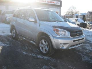Used 2004 Toyota RAV4 4WD Auto Low KM AC Sunroof Leather PL PM PW for sale in Ottawa, ON