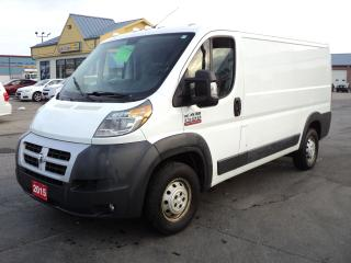 Used 2015 RAM ProMaster 1500 LowRoof 3.0L 4cyl Eco Diesel for sale in Brantford, ON