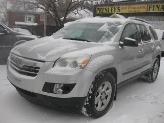 Used 2007 Saturn Outlook XE 3.6L 6cyl. AWD 7pass PL PW PM for sale in Ottawa, ON
