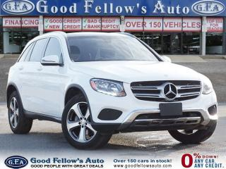 Used 2017 Mercedes-Benz GLC 300 4MATIC, 4 CYL, PANORAMIC ROOF, NAVIGATION for sale in Toronto, ON