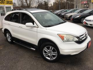 Used 2010 Honda CR-V EX/ 4WD/ POWER SUNROOF/ ALLOYS/ LOADED! for sale in Scarborough, ON