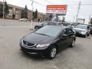 Used 2015 Honda Civic LX,backup camra for sale in Toronto, ON