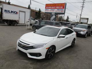 Used 2016 Honda Civic Touring,NAVIGATION LEATHER SUNROOF BACK UP CAM !! for sale in Toronto, ON