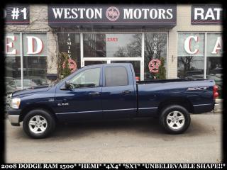 Used 2008 Dodge Ram 1500 HEMI*4X4*SXT*UNBELIEVABLE SHAPE!!* for sale in Toronto, ON