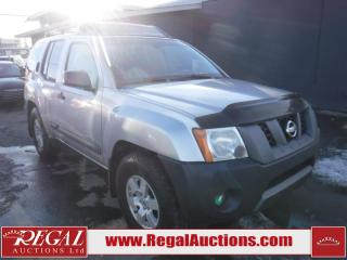Used 2006 Nissan Xterra OFF-ROAD 4D Utility 4WD for sale in Calgary, AB