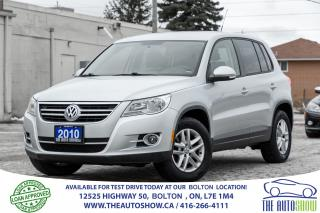 Used 2010 Volkswagen Tiguan 2.0L 4-MOTION AWD 1 OWNER NO ACCIDENTS SPOTLESS for sale in Bolton, ON