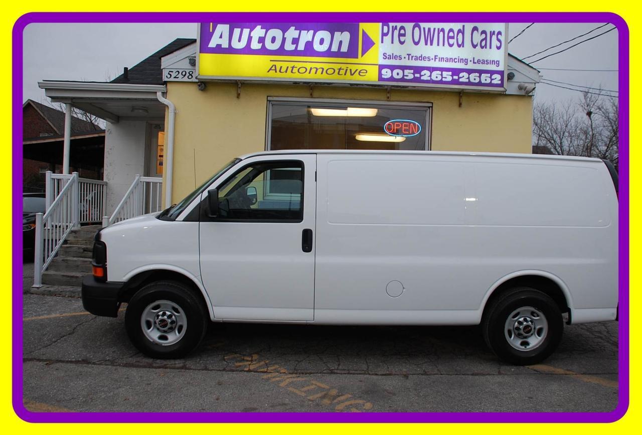 2014 GMC Savana 3500 1 Ton Cargo Van, Loaded