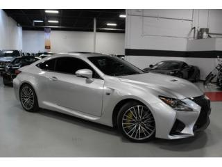 Used 2016 Lexus RC F SERVICE HISTORY for sale in Vaughan, ON