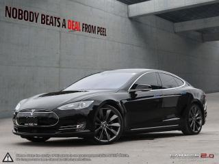 Used 2015 Tesla Model S 90D Autopilot, 21Whls, Sunroof, Smart Suspension, EV for sale in Mississauga, ON