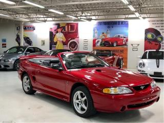 Used 1998 Ford Mustang SVT COBRA for sale in Paris, ON
