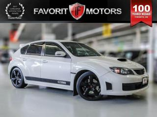 Used 2010 Subaru Impreza WRX STi 2.5L TURBOCHARGED BOXER ENGINE | AWD | LEATHER for sale in North York, ON