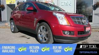 Used 2010 Cadillac SRX 3.0 Performance ** No Accident, Dual DVD, AWD, Lea for sale in Bowmanville, ON