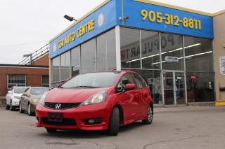 Used 2013 Honda Fit Sport 5-Speed AT | KEYLESS ENTRY | ALLOY WHEELS | REAR WINDOW WIPERS | POWER DOOR LOCKS | POWER WINDOWS for sale in Hamilton, ON