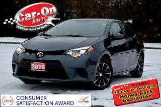 Used 2016 Toyota Corolla AUTO A/C BLUETOOTH ALLOYS ONLY 34,000 KM for sale in Ottawa, ON