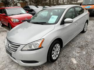 Used 2013 Nissan Sentra 4dr, automatic, A/C, warranty for sale in Halton Hills, ON