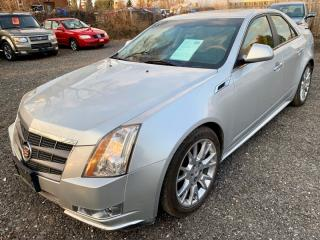 Used 2011 Cadillac CTS Sedan 4dr Sdn 3.6L RWD Premium, Nav, Pano roofs for sale in Halton Hills, ON