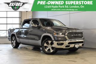 Used 2019 RAM 1500 Laramie - Manager Demo, 12in Touch Screen, Loaded for sale in London, ON